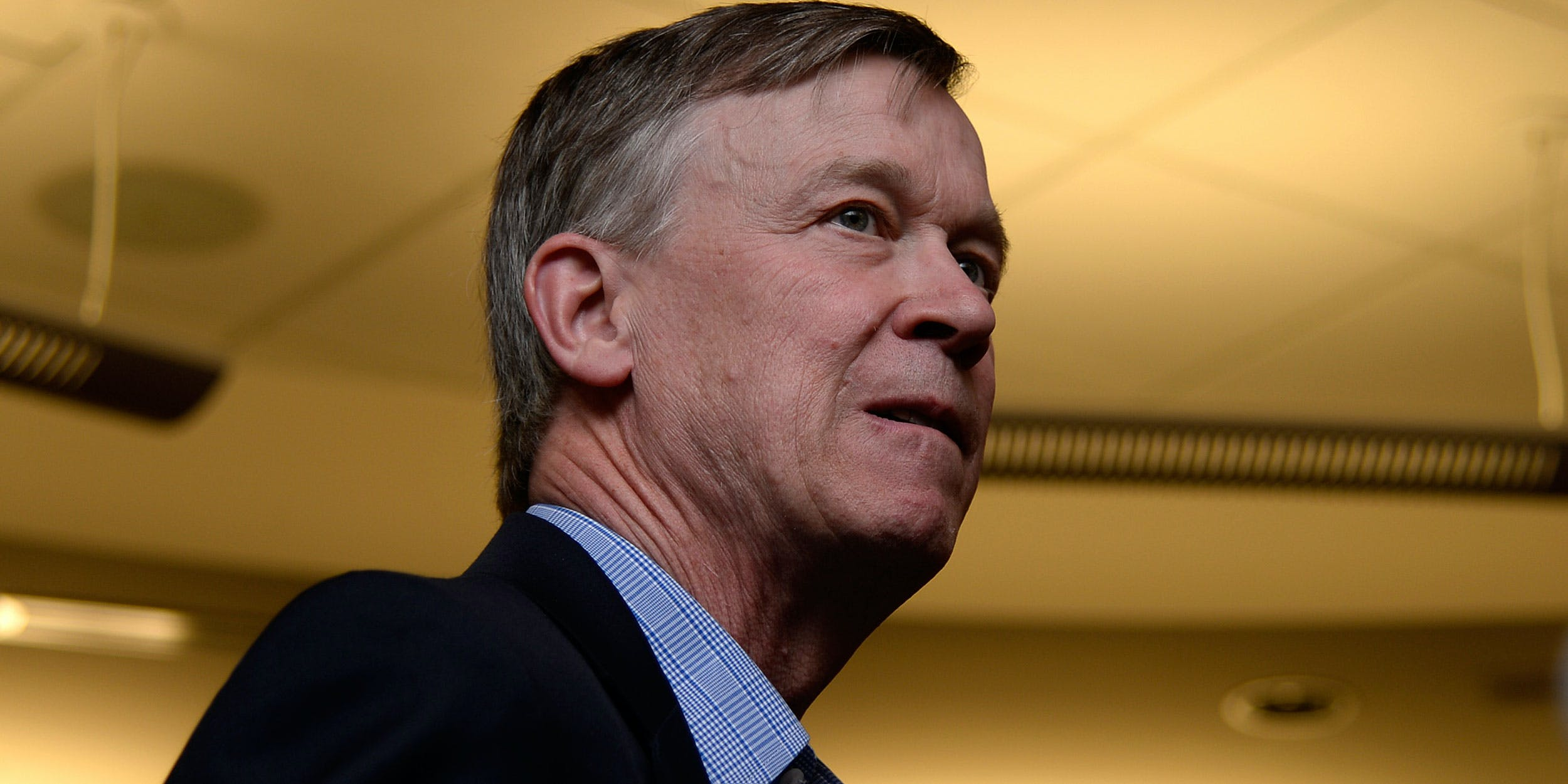 Governor John Hickenlooper talks about social consumption of cannabis