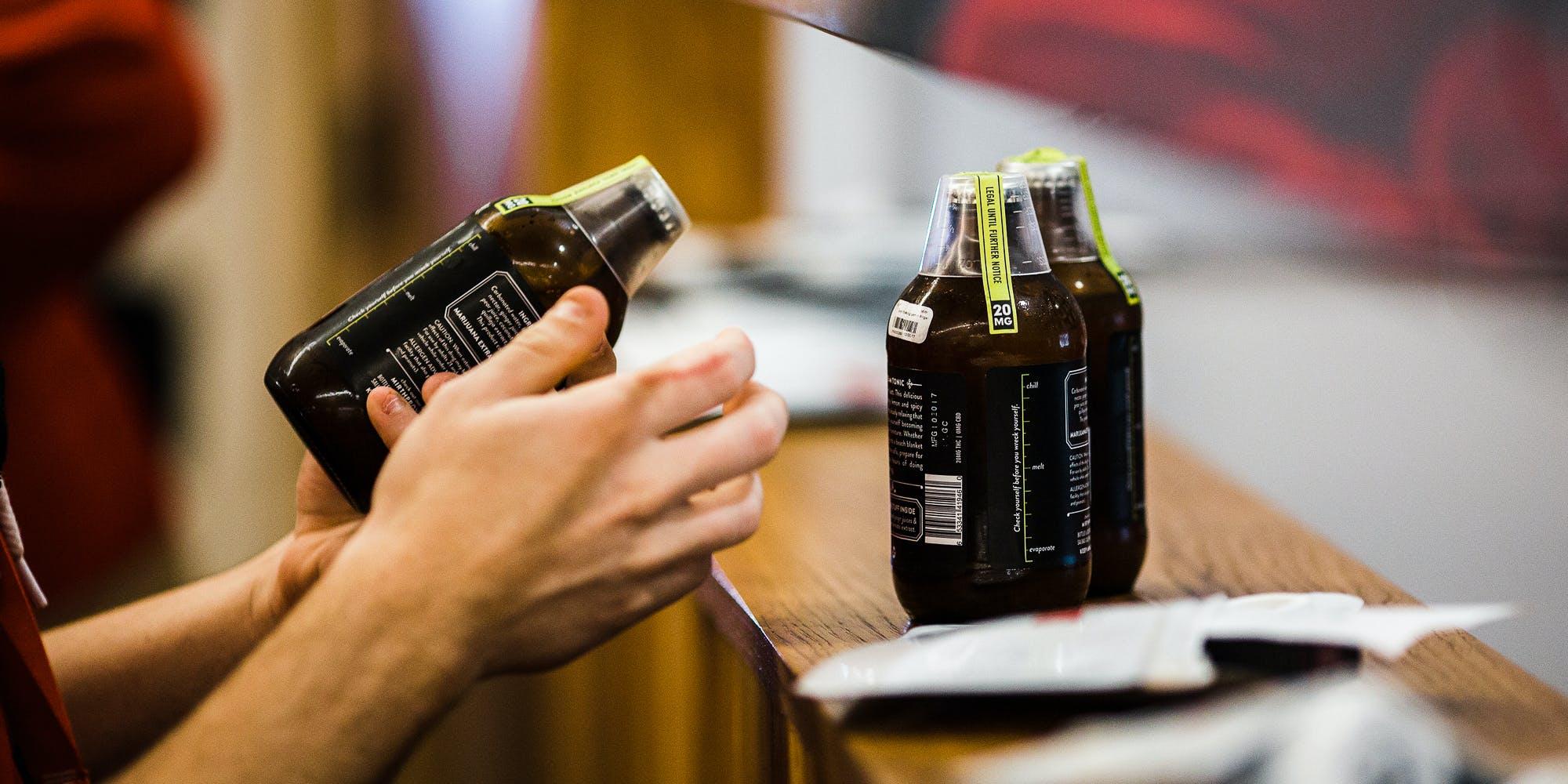 Drinkable Weed Beverage