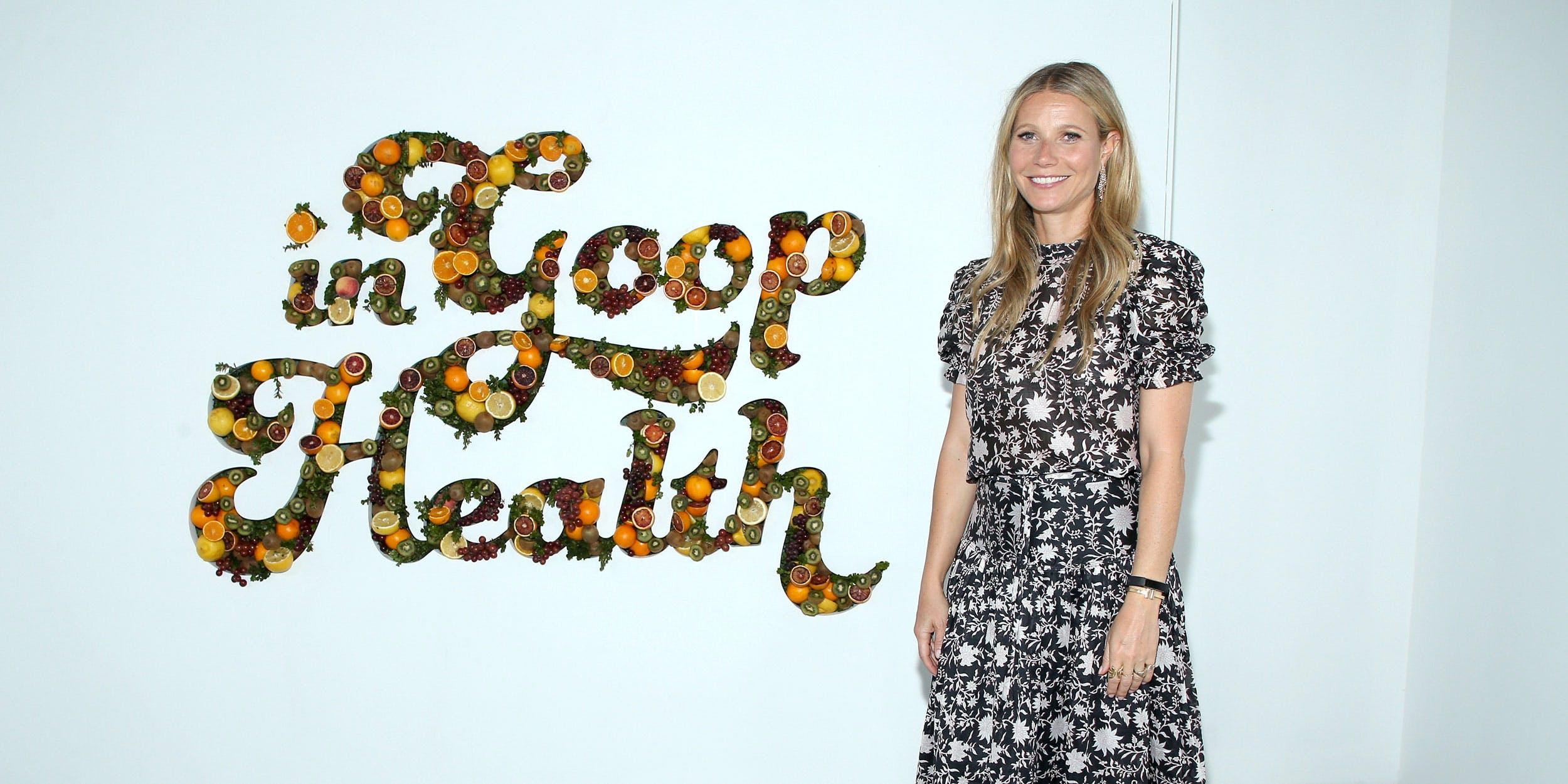 Goop owner gwyneth paltrow