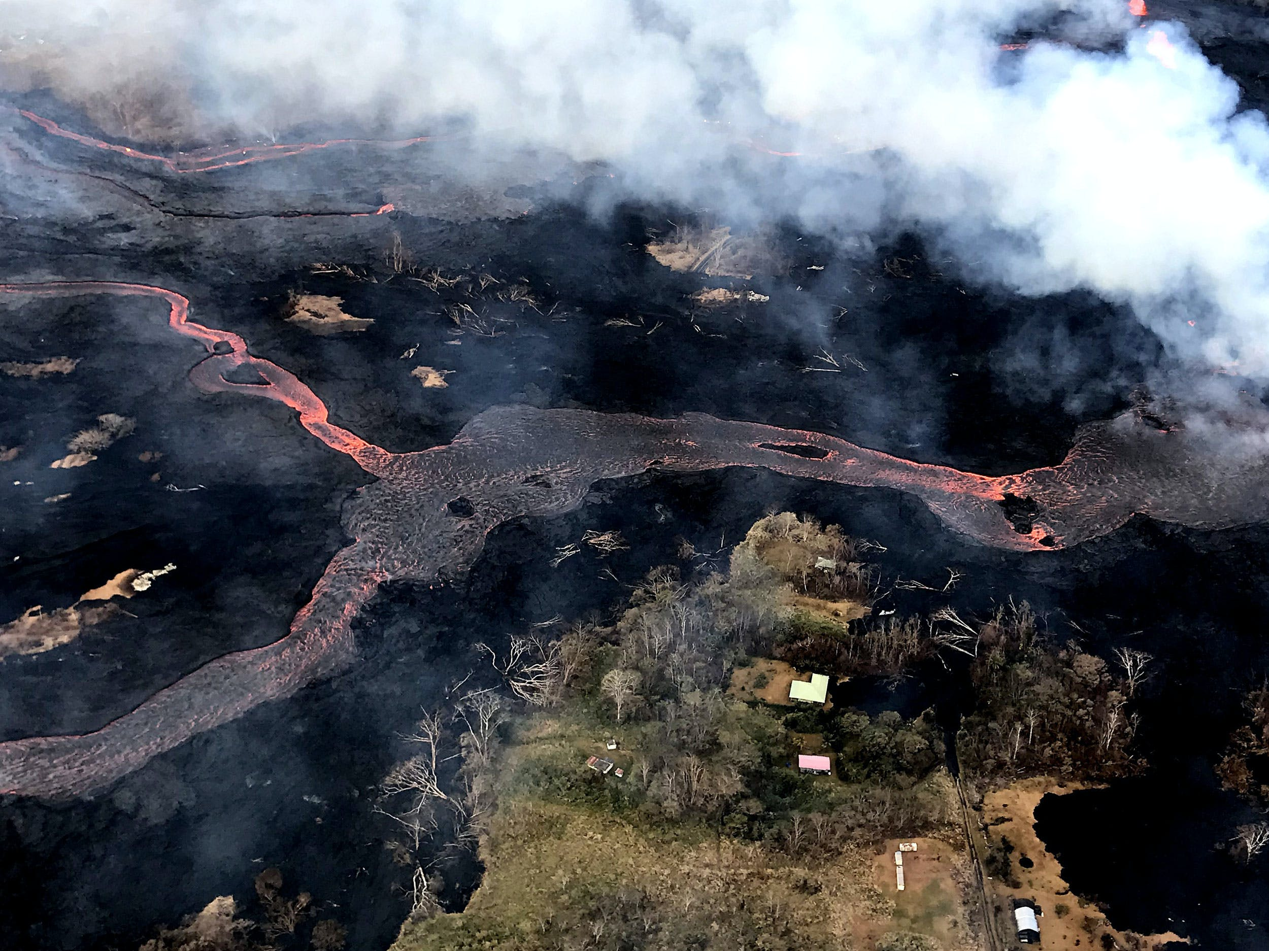 Hawaiian Cannabis Farmers Refuse to Leave Crops Amid Spreading Volcanic Lava1 New Yorks Health Department To Recommend The State Legalizes Recreational Marijuana