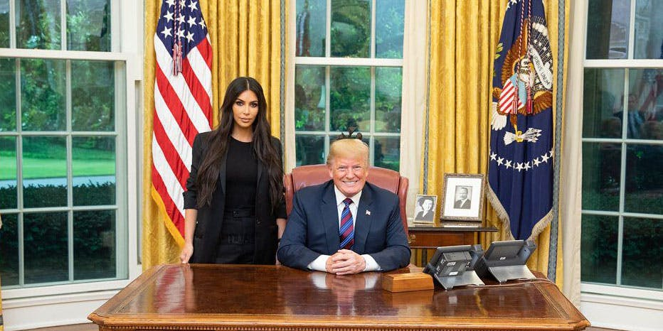 Kim Kardashian Successfully Lobbied Trump To Release A Grandmother In Prison For Life