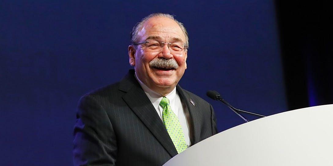 Chair of the Texas Democrats Gilberto Hinojosas