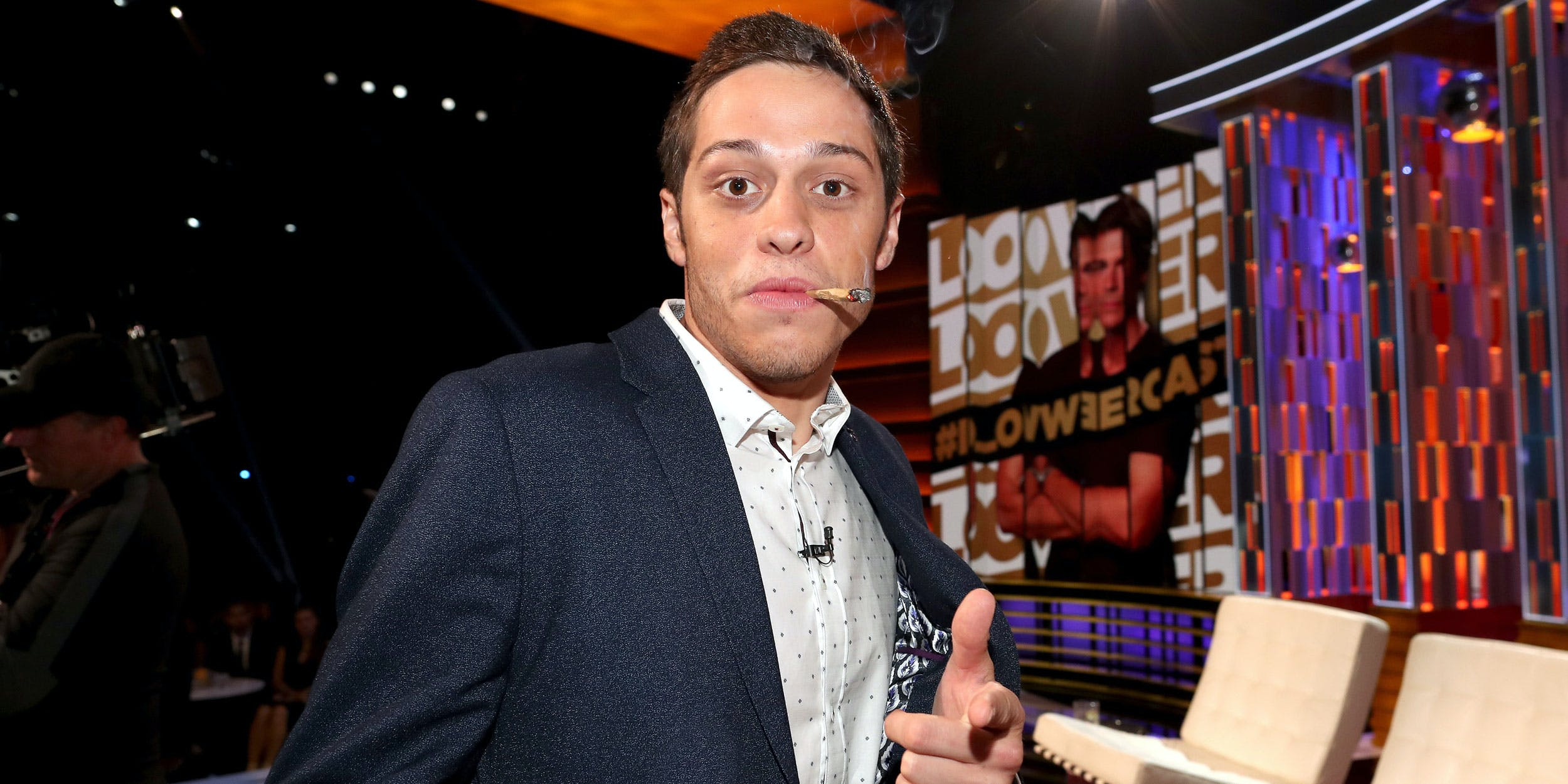 Actor Pete Davidson attends The Comedy Central Roast of Rob Lowe at Sony Studios on August 27, 2016 in Los Angeles, California.
