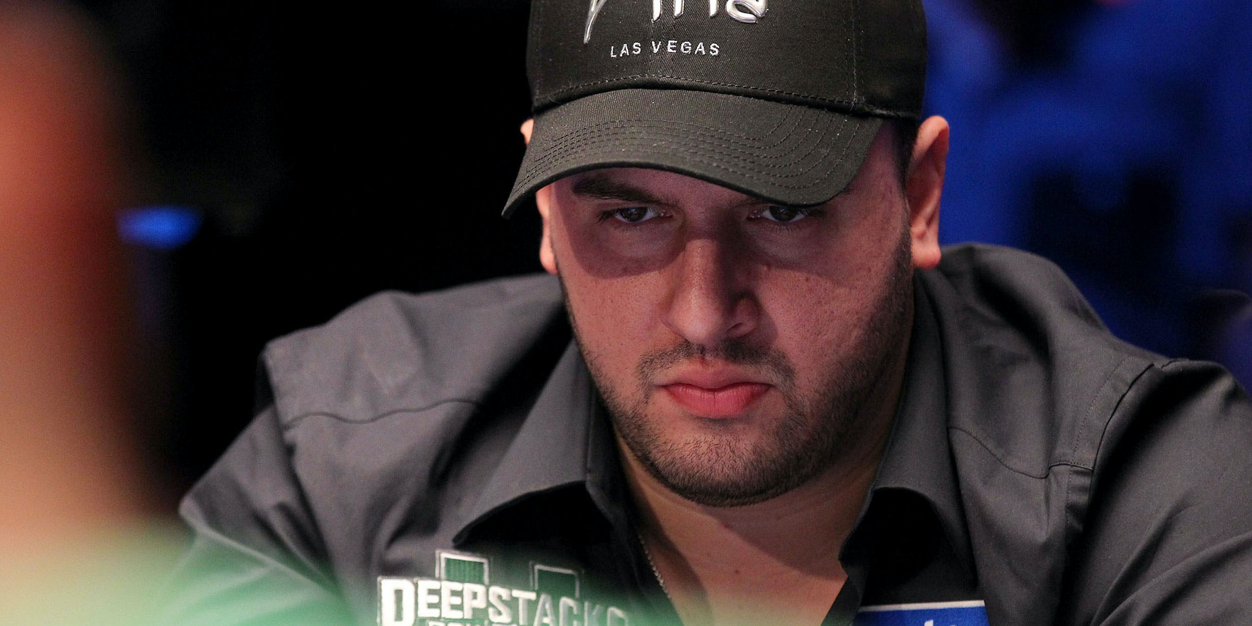 LAS VEGAS, NV - DECEMBER 18: Michael Mizrachi competes at the third Main Event on the final day of the Epic Poker League Inaugural Season at the Palms Casino Resort on December 18, 2011 in Las Vegas, Nevada. The World Series of Poker (WSOP) recently pulled his cannabis endorsement mid-tournament.