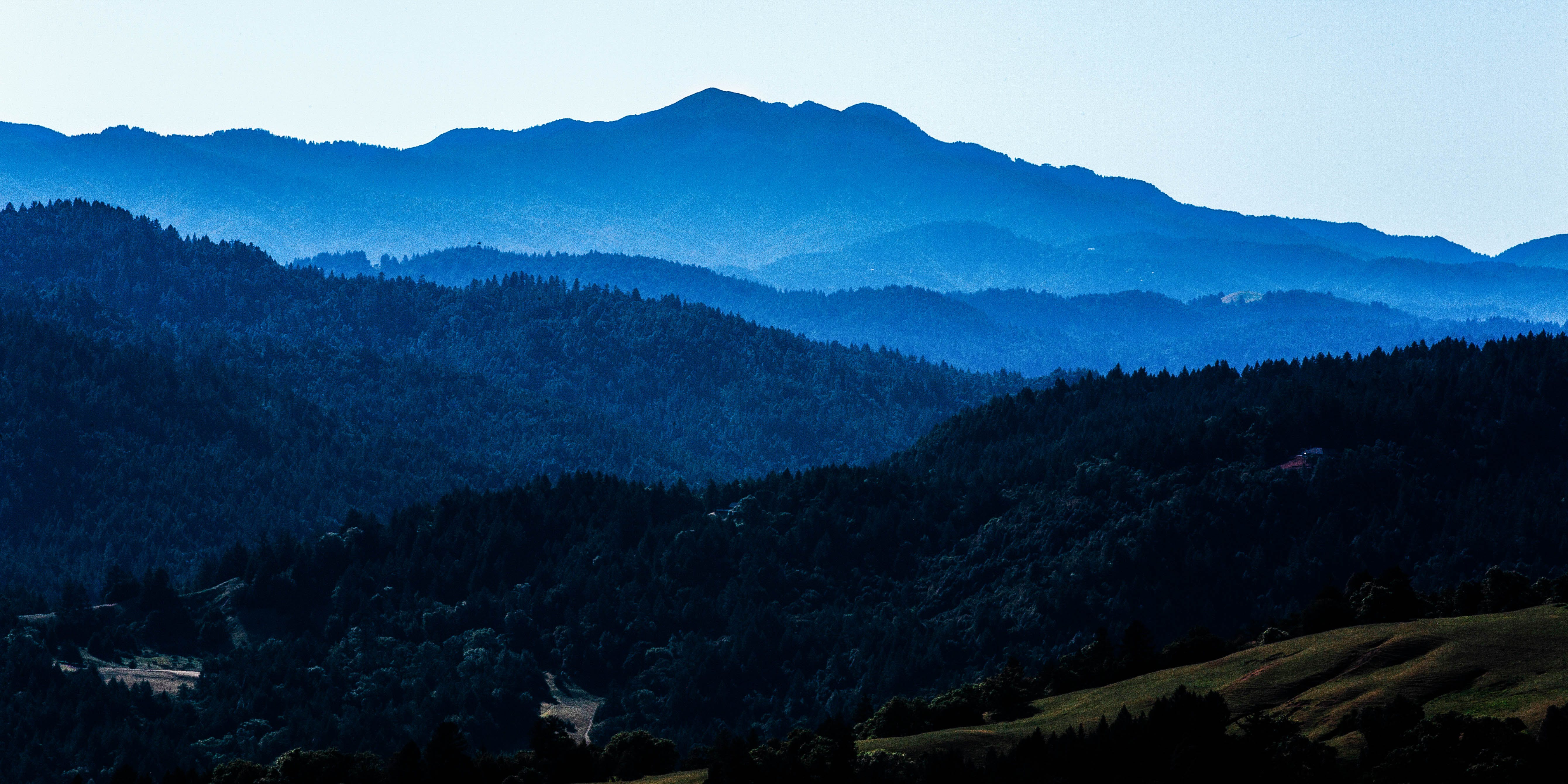 The rolling mountains of Humboldt County, CA on May 12, 2018. Human trafficking in Humboldt continues to be a problem as the region is so vast.