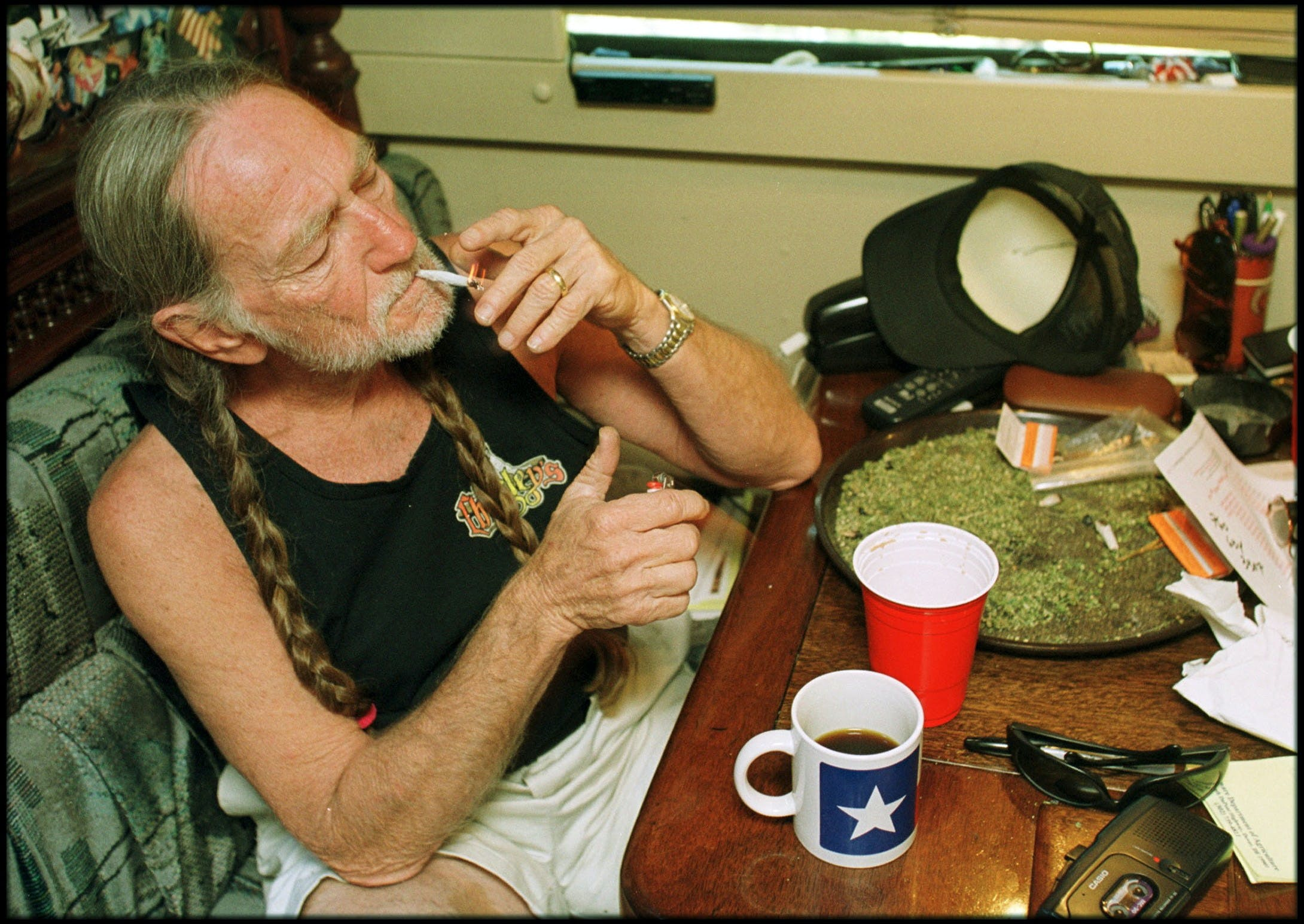 Willie Nelson The Top 5 Cannabis Strains for Hangover Symptoms