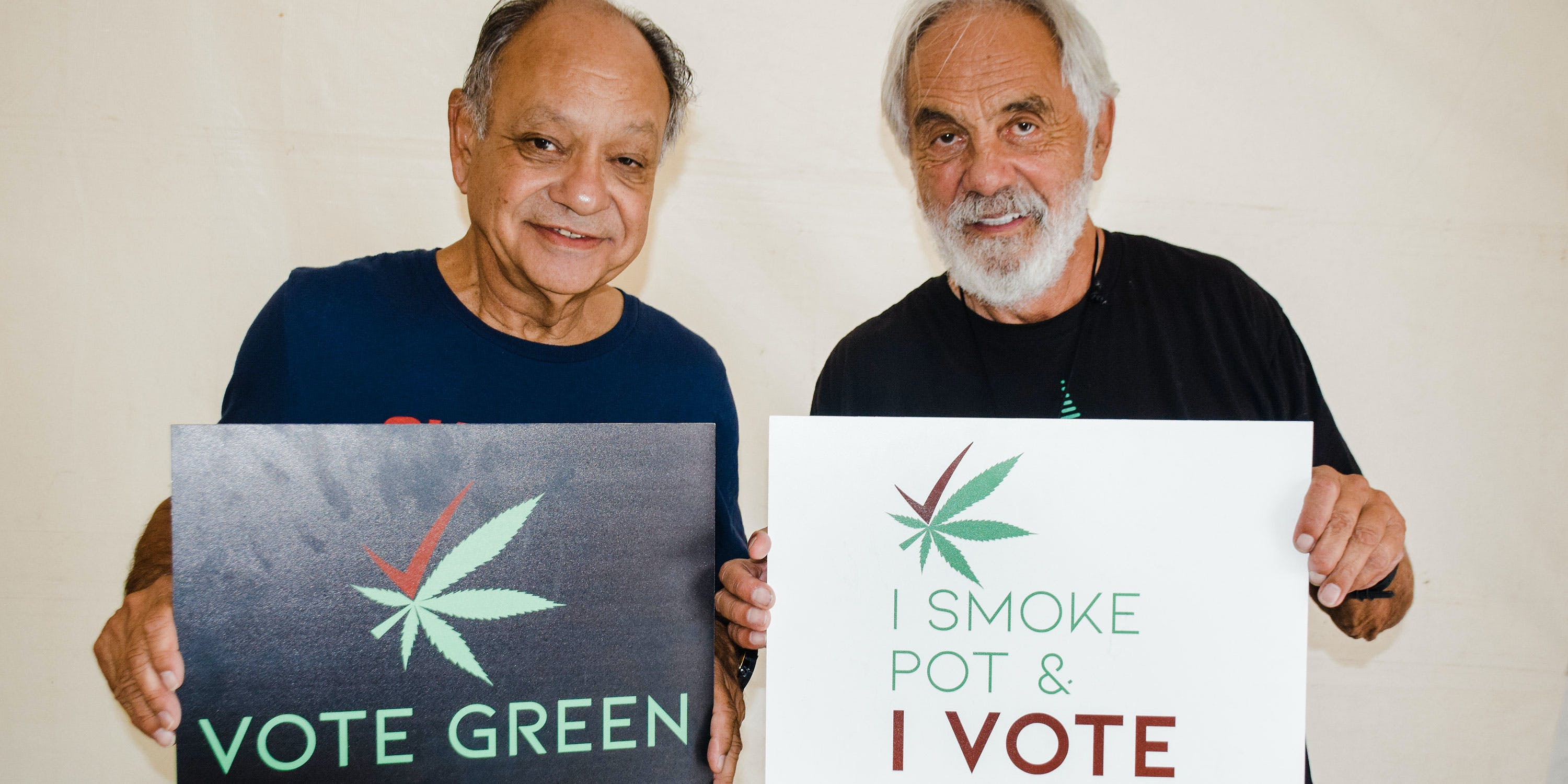 Cheech and Chong endorse the Cannabis Voter Project