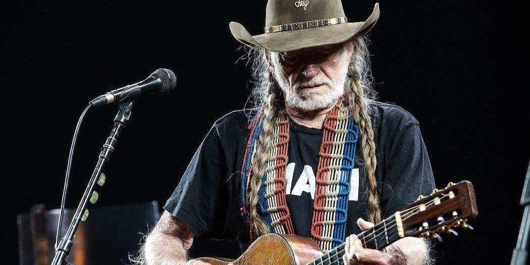 Willie Nelson performs onstage. Willie Nelson recently appeared on Stephen Colbert's talk show, where he listed the people he would smoke up with.