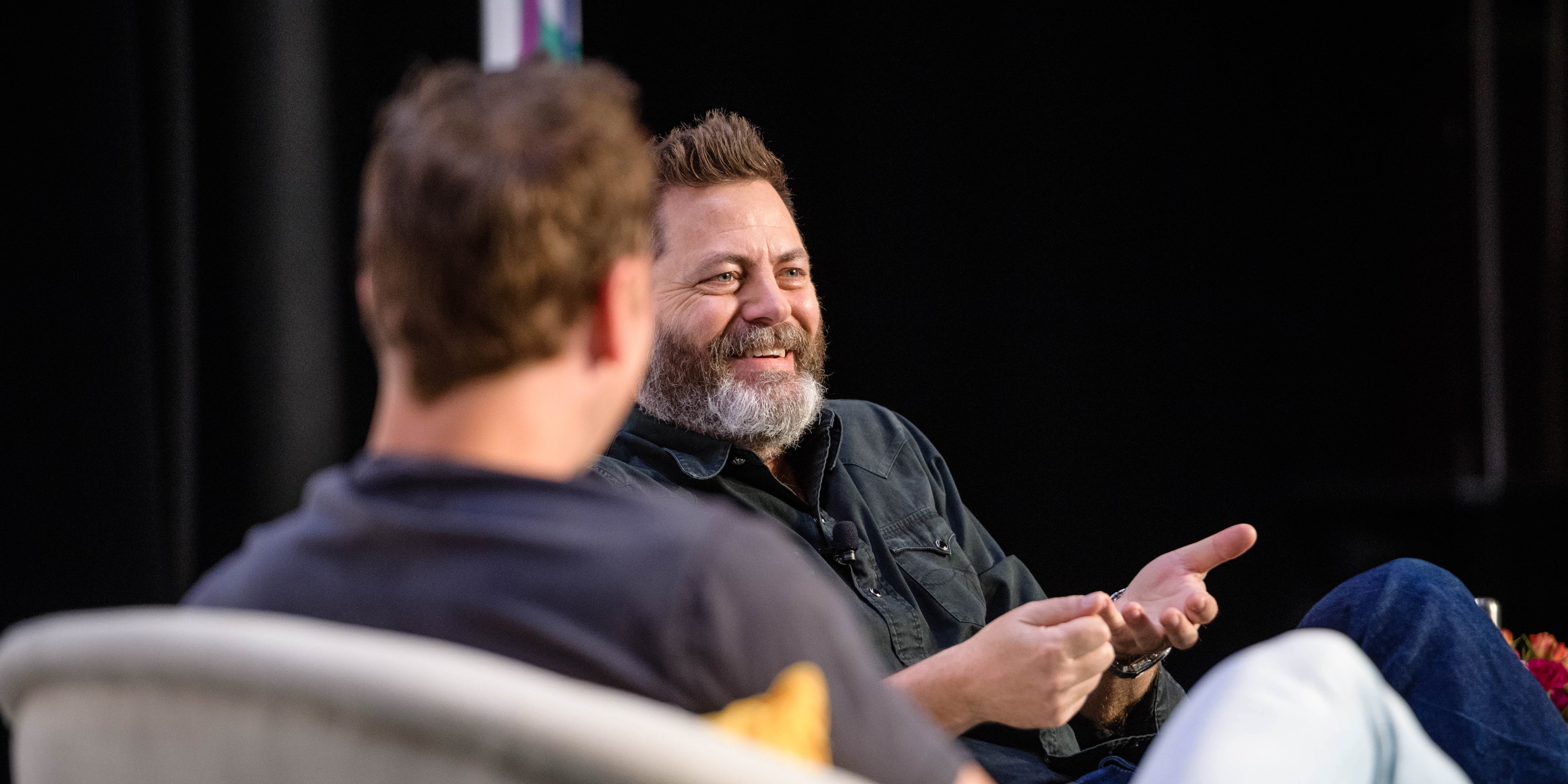 Actor and comedian, Nick Offerman, is vocal in his beliefs that weed is is better than alcohol.