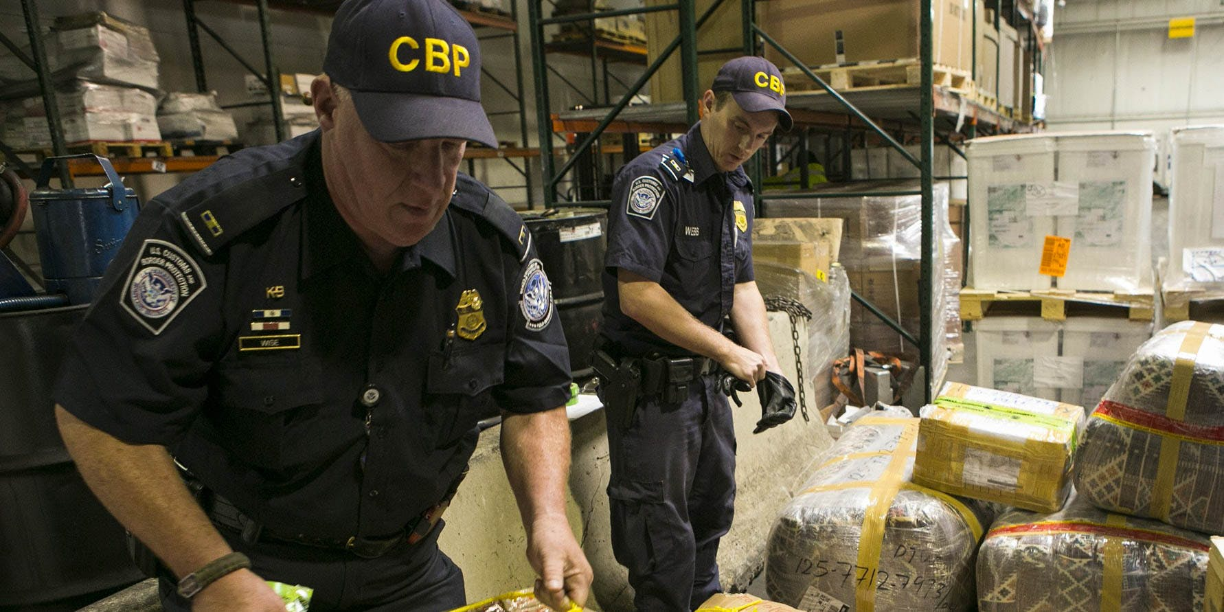 Drug trafficking at the borders of states with legalized cannabis is at a 10-year low