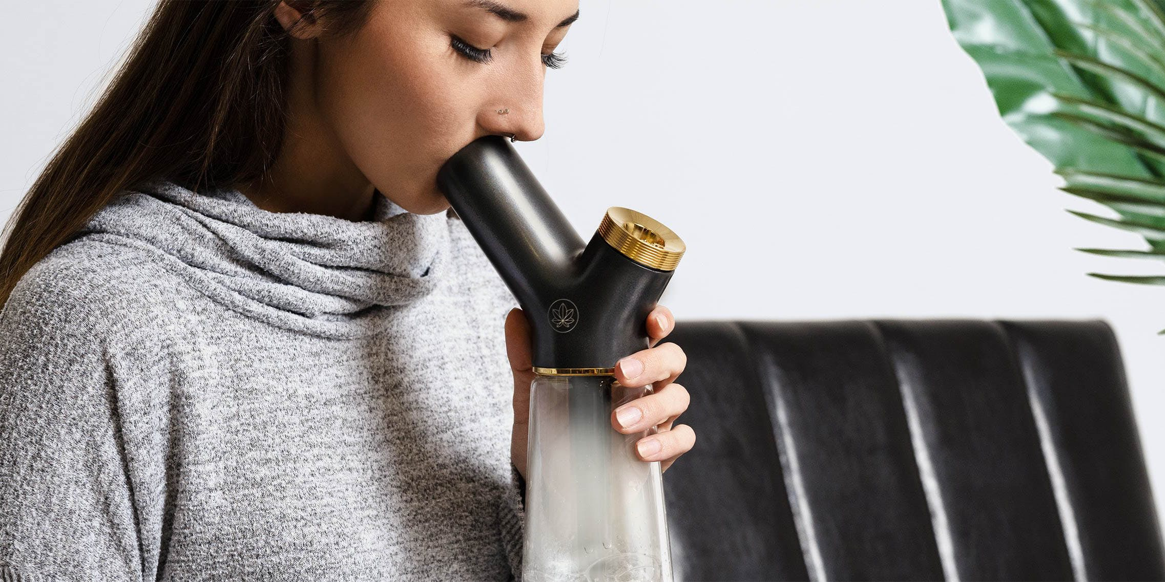 A woman smoked cannabis. From bongs to accessories, trust HERB's guide to the 100 best cannabis products