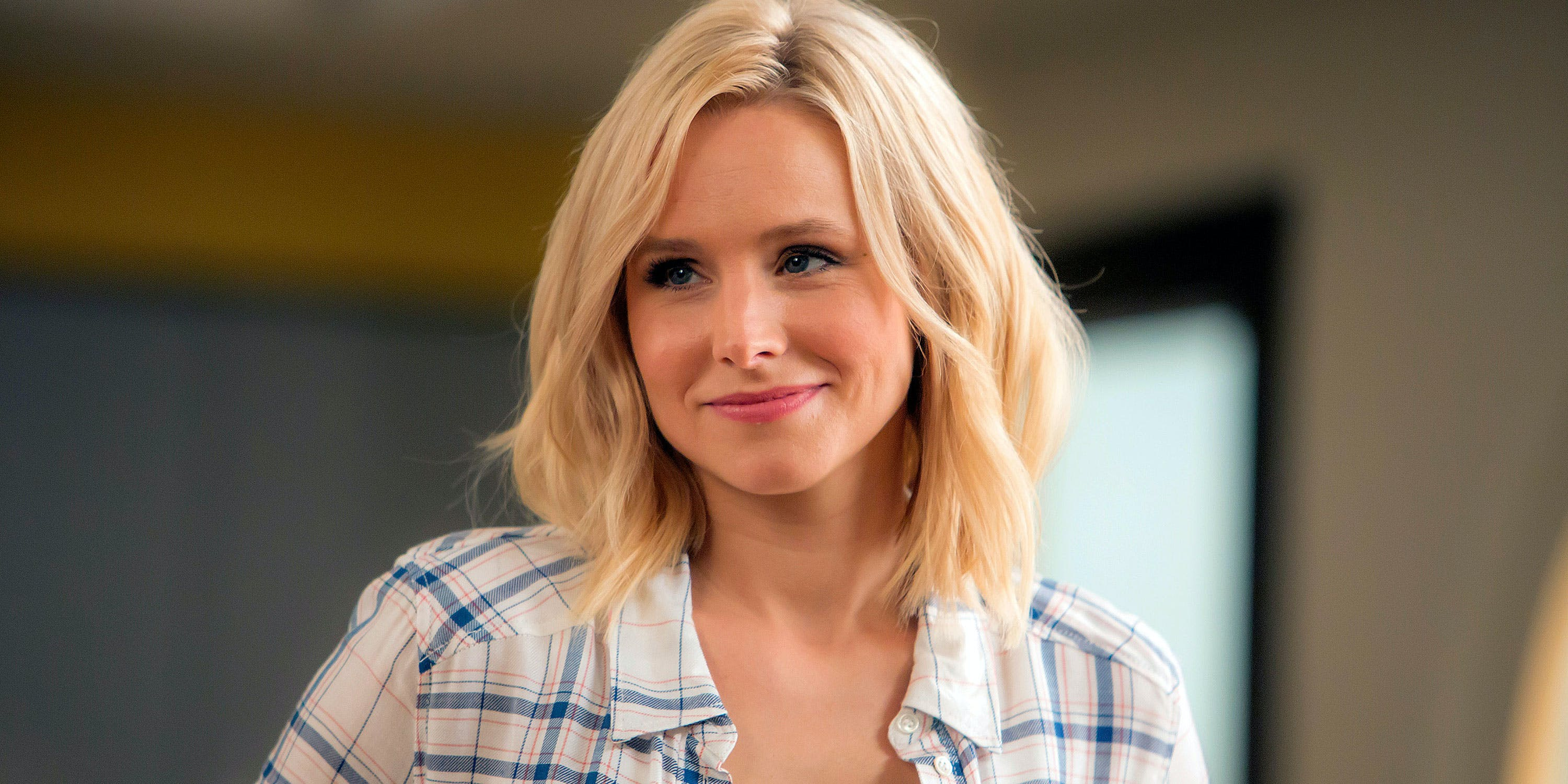 "Kristen Bell uses CBD daily, she said on daytime talk show The View. Here, she's shown acting in THE GOOD PLACE -- ""What's My Motivation"" Episode 111"