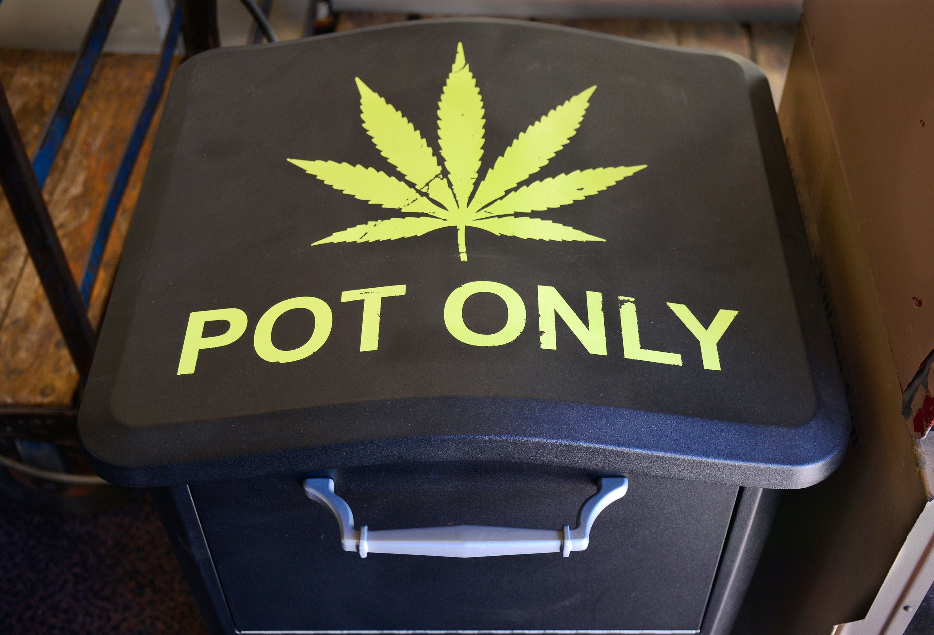 "This Major City is Rumored to Have a ""Free Weed Bin"""