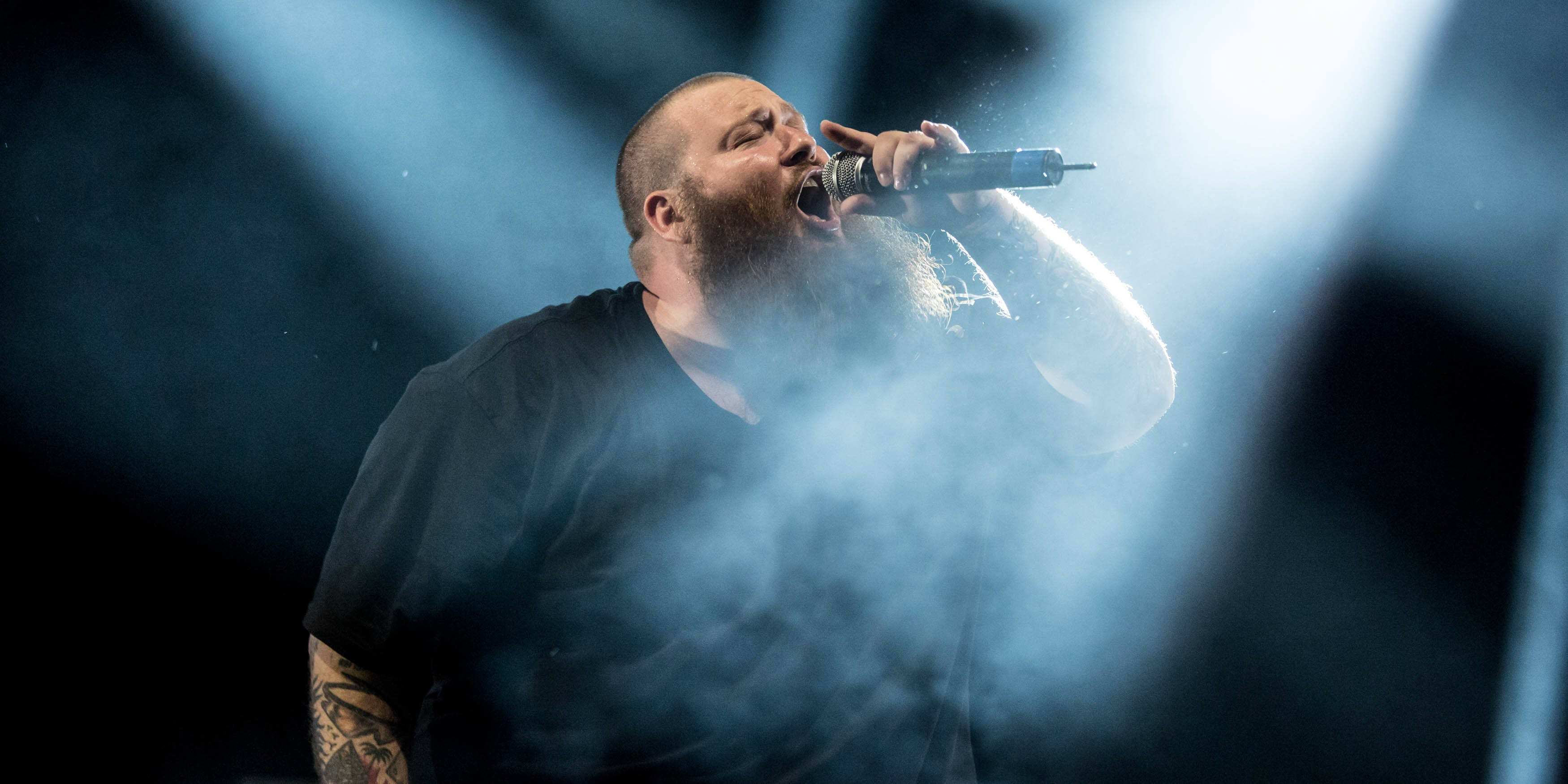 Action Bronson performs onstage. action bronson spent $20,000 on this bong -- shown on Herb's website.