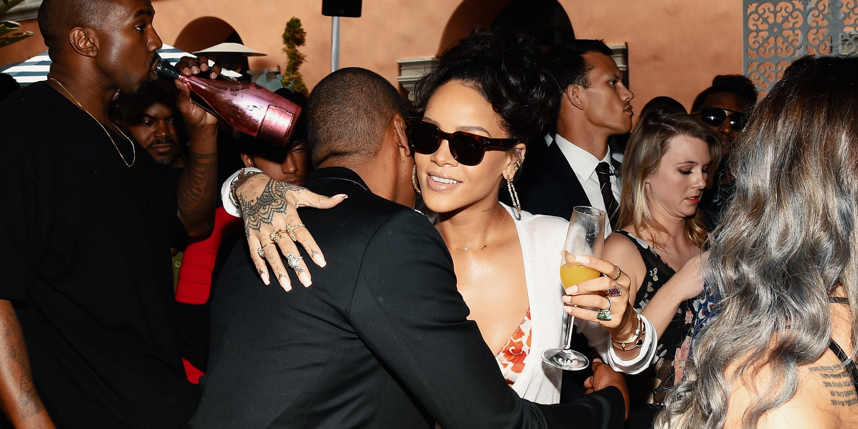 "Rihanna Took Charlamange Tha God to a ""Hood Spot"" With ""Mad Weed and Mad Tequila"""