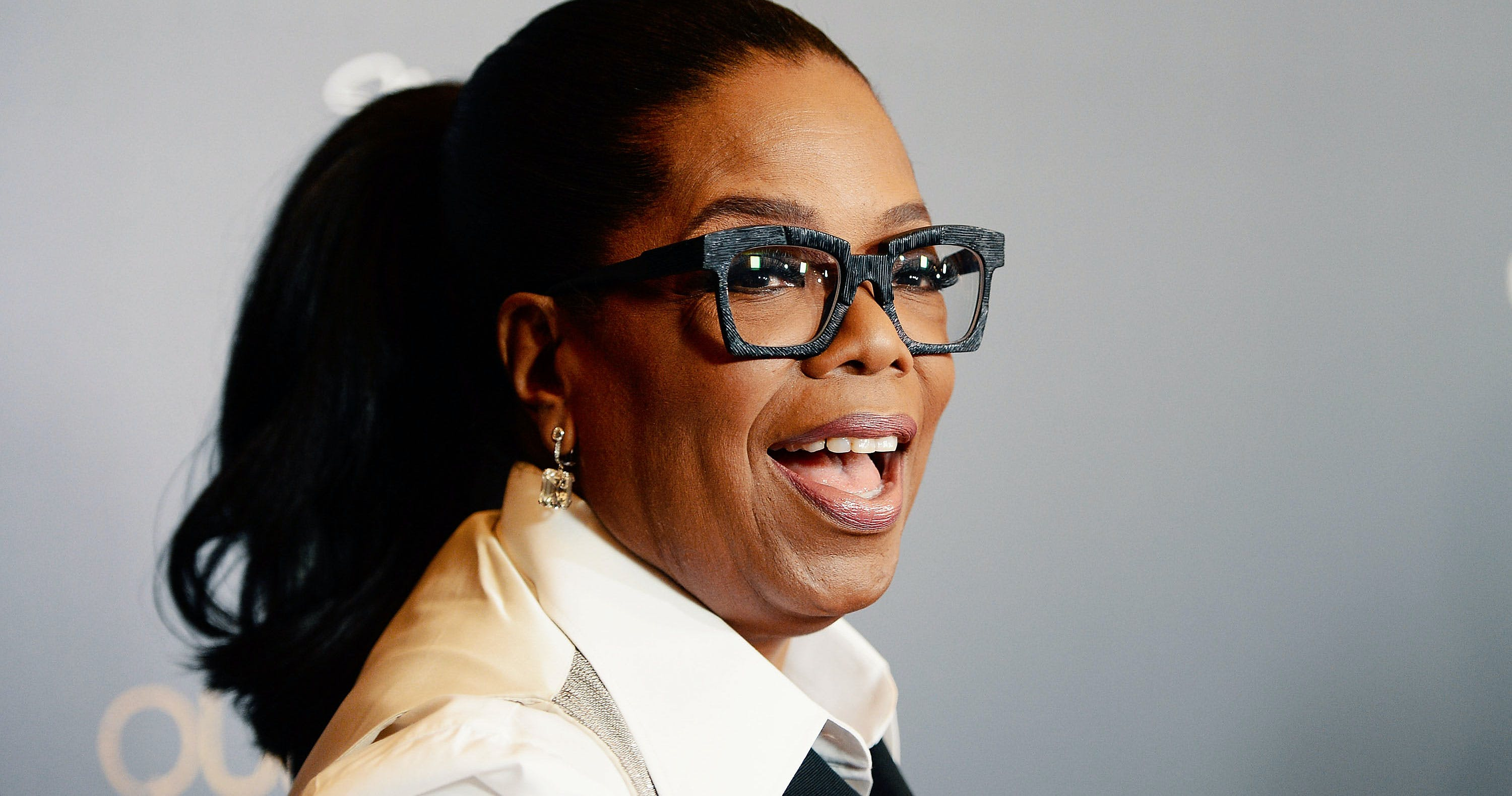 """Oprah's BFF Confesses Oprah Smokes Weed Sometimes. Here, Oprah Winfrey arrives at the taping of """"Queen Sugar After-Show"""" at the OWN Oprah Winfrey Network on November 7, 2017 in West Hollywood, California."""
