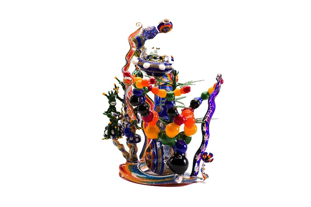 Take me to the Mothership Action Bronson Spent $20,000 On This Bong