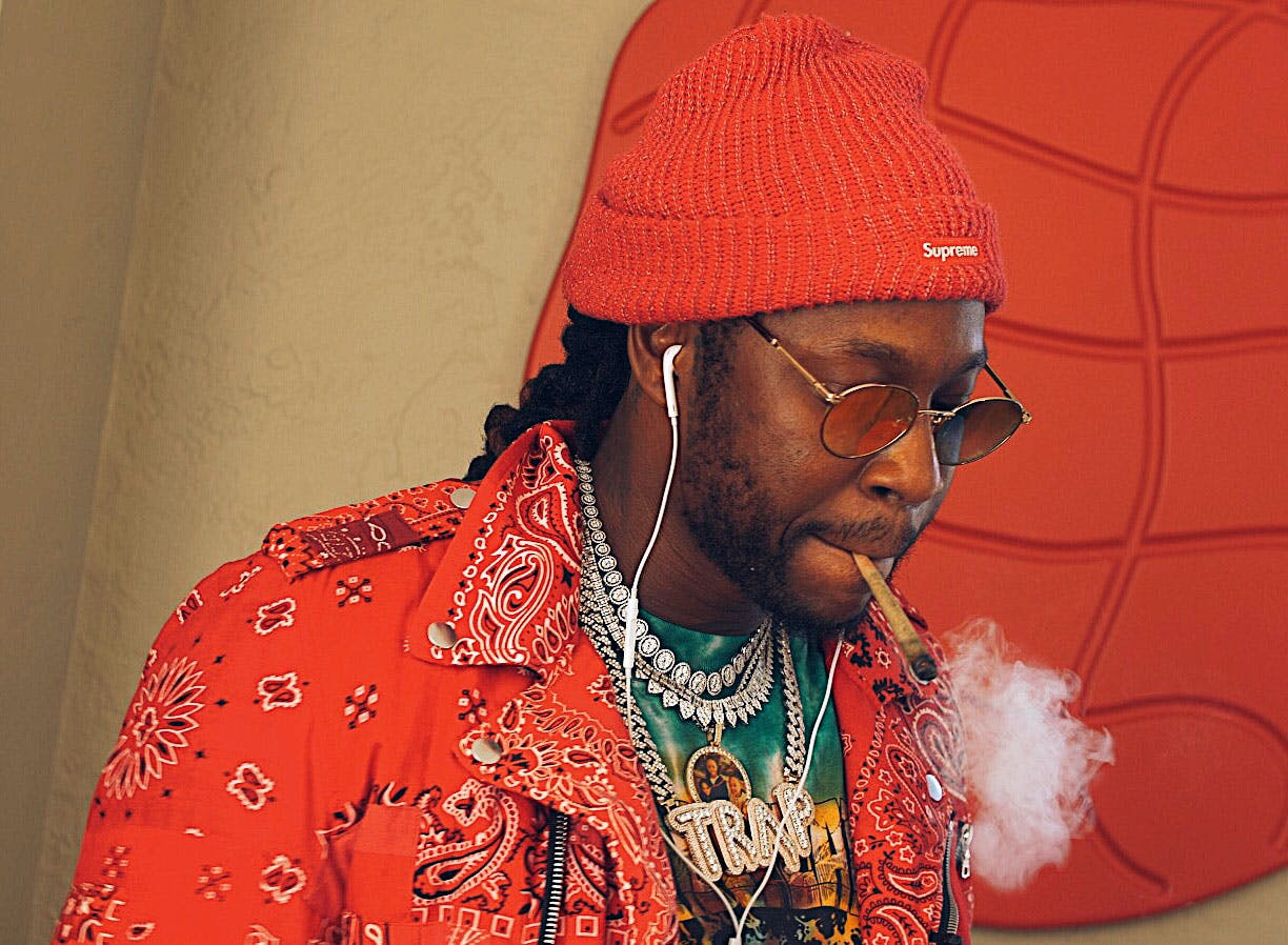 """We Smoked 2 Chainz Strains """"Gas"""" with the Legend Himself"""