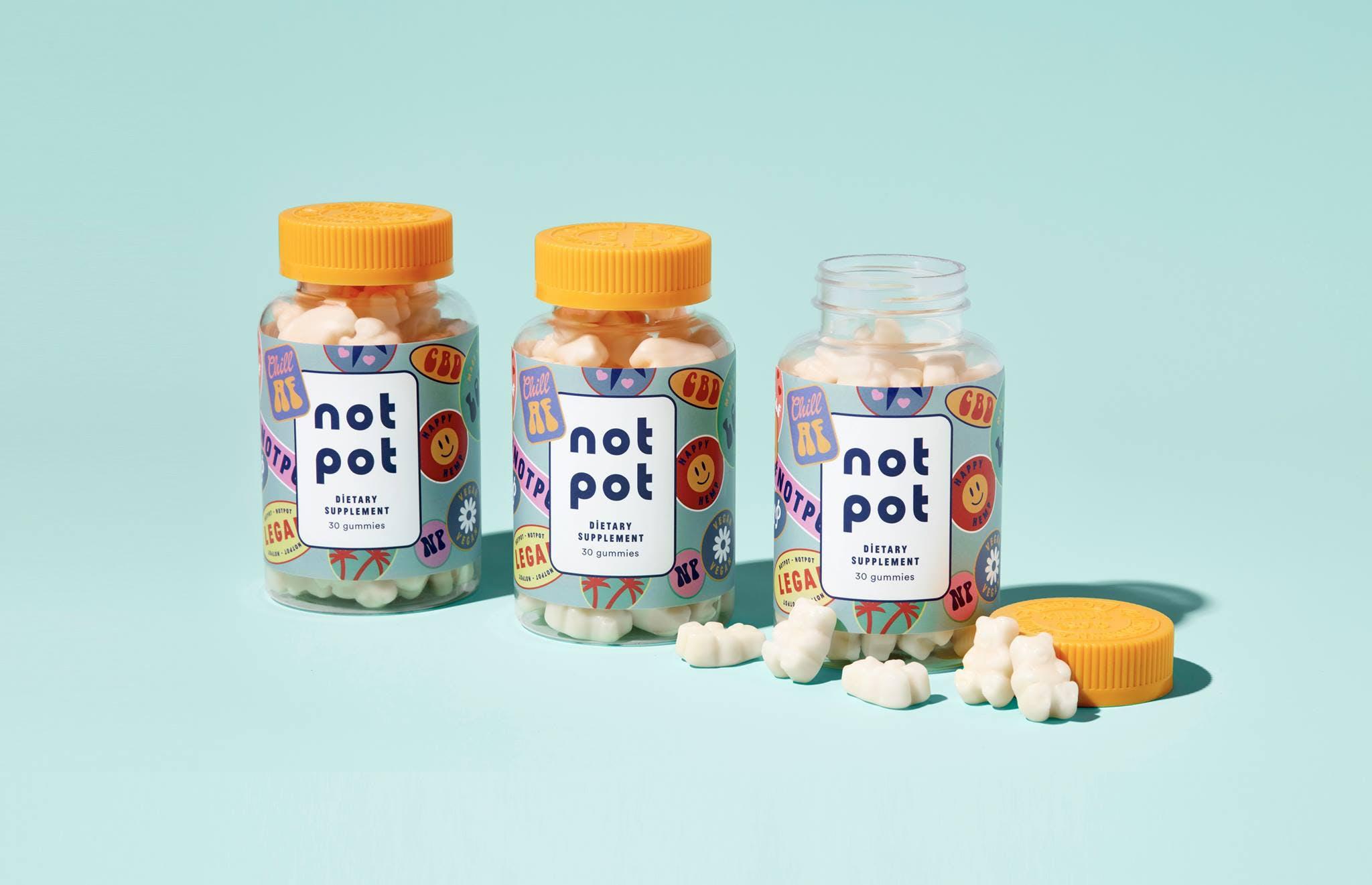 NOT POT Gummies Love Edibles but not THC? Here are the Best CBD Gummies