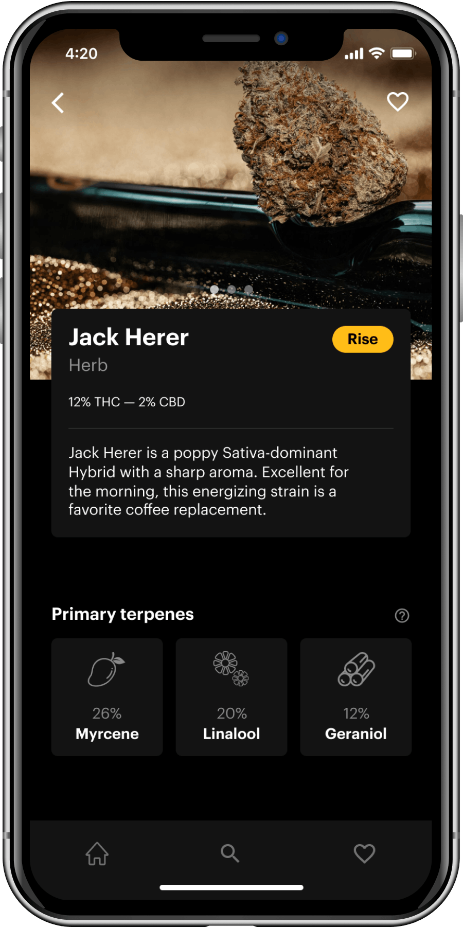 Herb App Screenshot